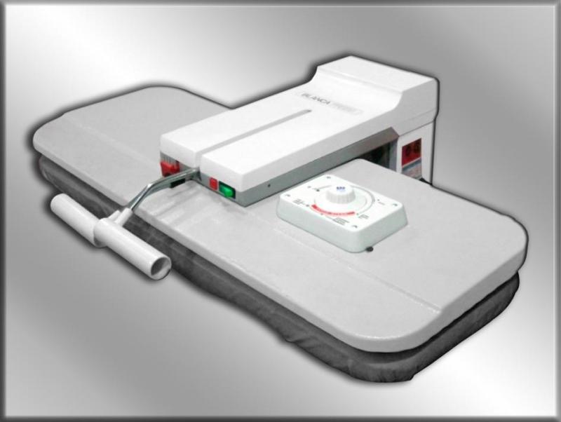 Planchon profesional a vapor planchas hugo maquinas ltda for Plancha industrial