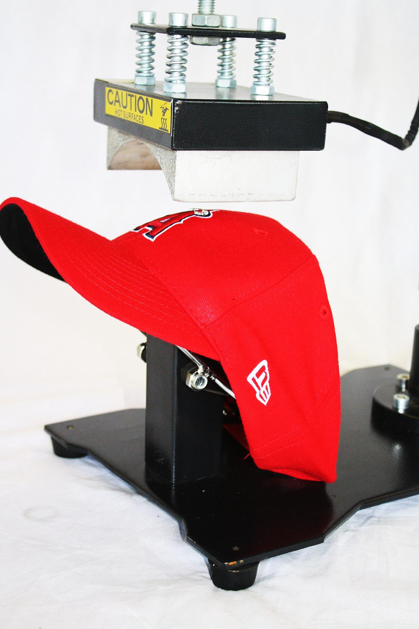 Estampadora de gorras